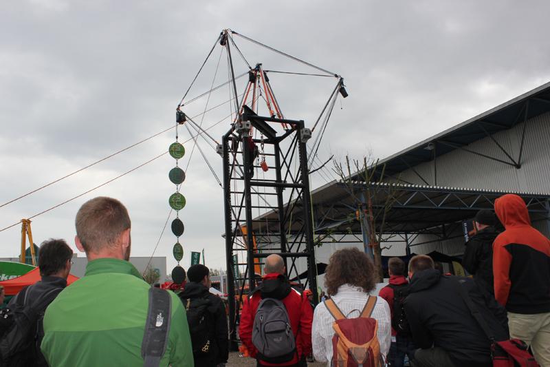 Kletterausrüstung Baumpflege : Theorie trifft technik auf den deutschen baumpflegetagen