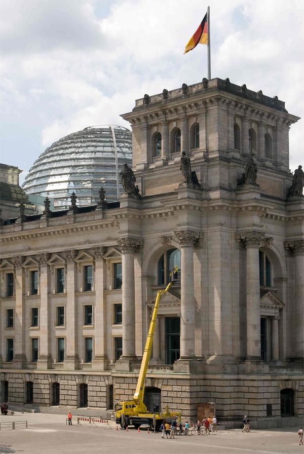 Gardemann in berlin inspektion der reichtagsfassaden bauhof - Architekturburos in berlin ...