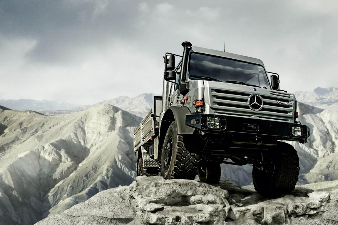 Off Road Award: Mercedes-Benz Unimog ist Geländewagen des ...