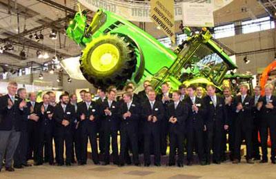 John Deere wieder die Nummer 1 bei Traktoren in Deutschland