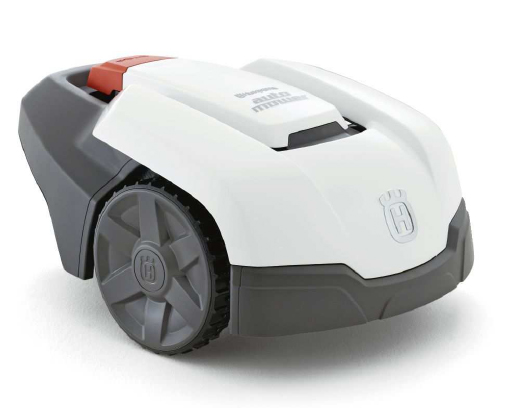 roboterrasenm her der dritten generation husqvarna automower 305 bauhof. Black Bedroom Furniture Sets. Home Design Ideas