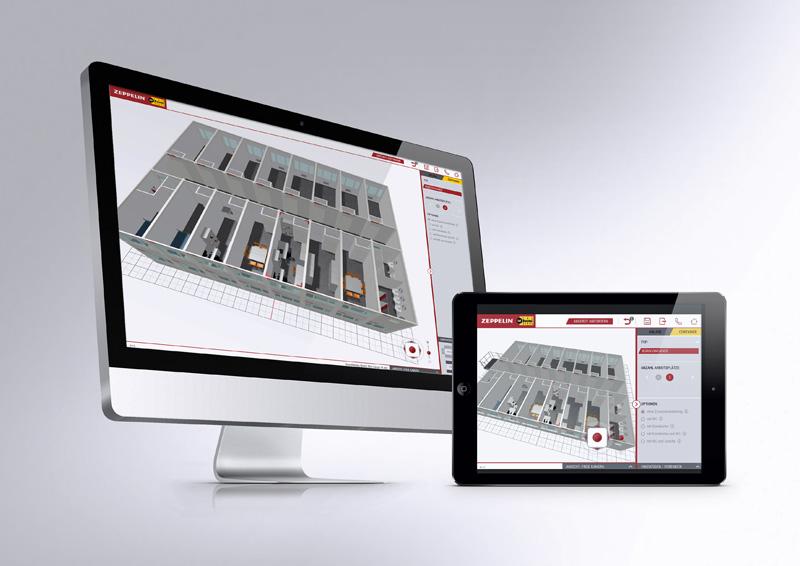 zeppelin rental startet neues online tool f r raumsysteme bauhof. Black Bedroom Furniture Sets. Home Design Ideas
